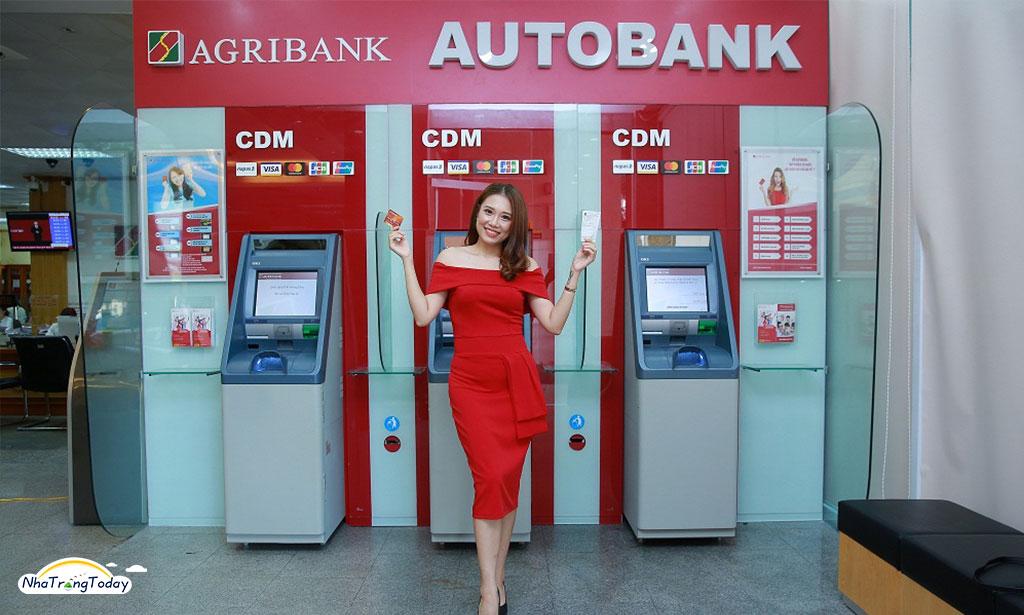 hệ thống atm ngân hàng agribank nha trang