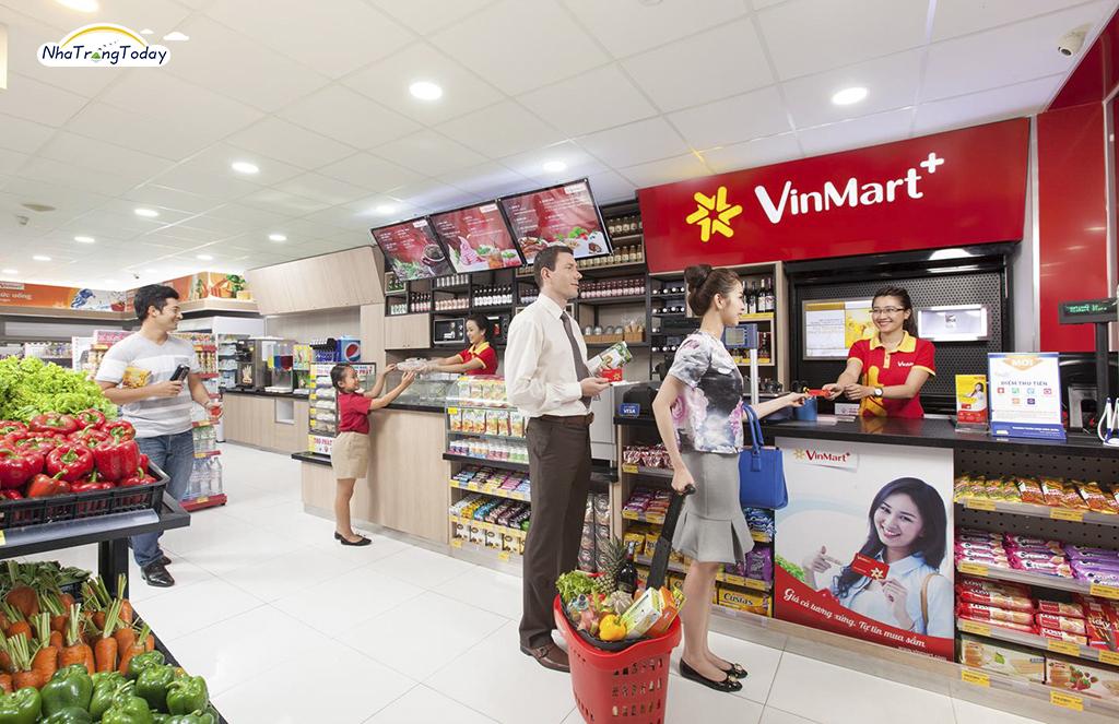 Hệ thống cửa hàng Vinmart Nha Trang