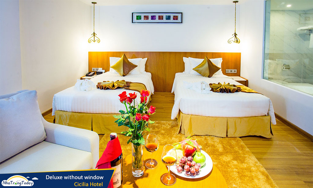 khach san Cicilia nha trang hotel - Deluxe without window