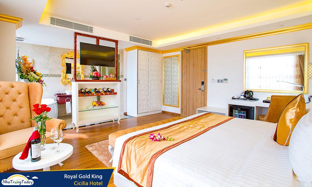 khach san Cicilia nha trang hotel - royal gold king