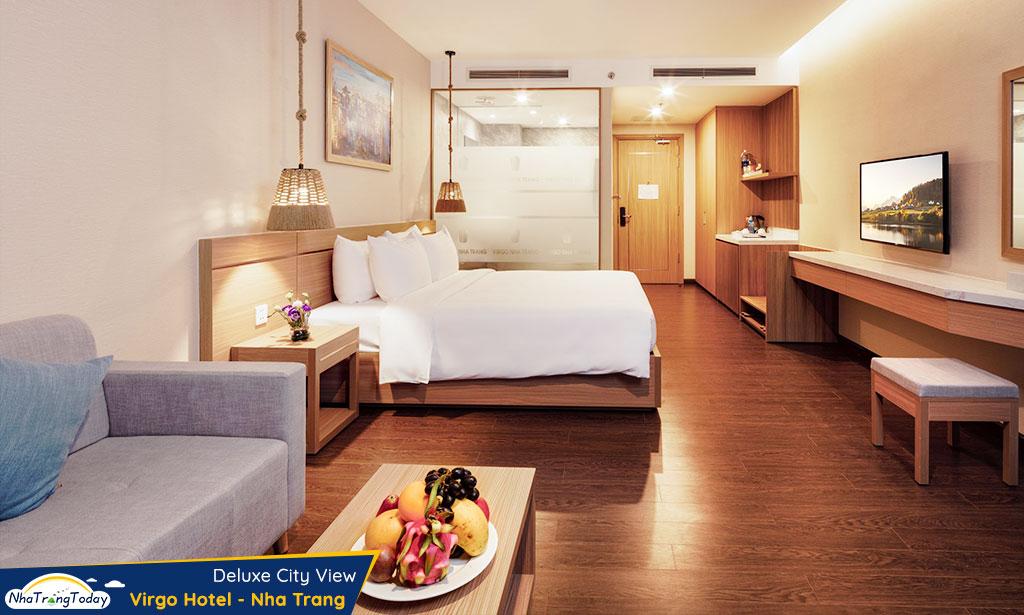 khach san virgo nha trang hotel - deluxe city view room