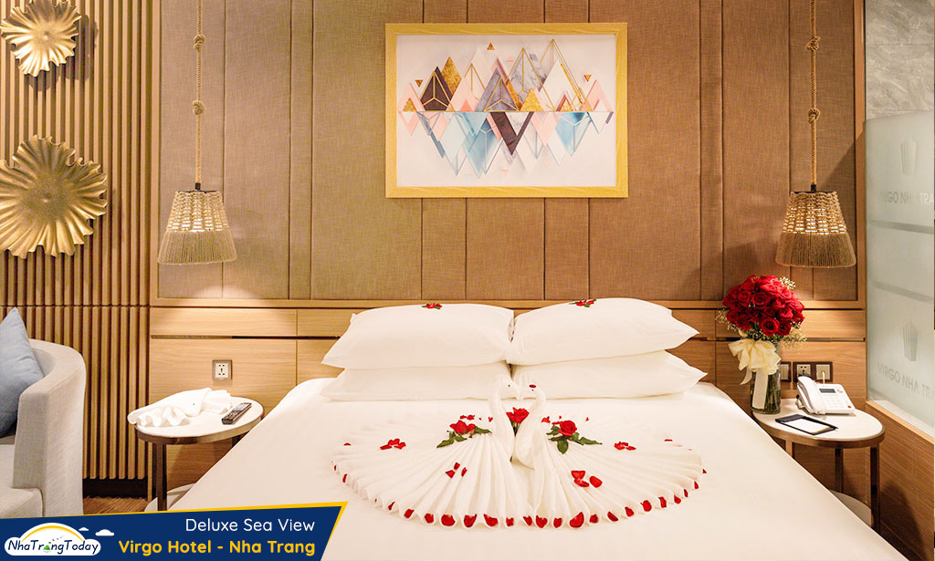 khach san virgo nha trang hotel - deluxe sea view room