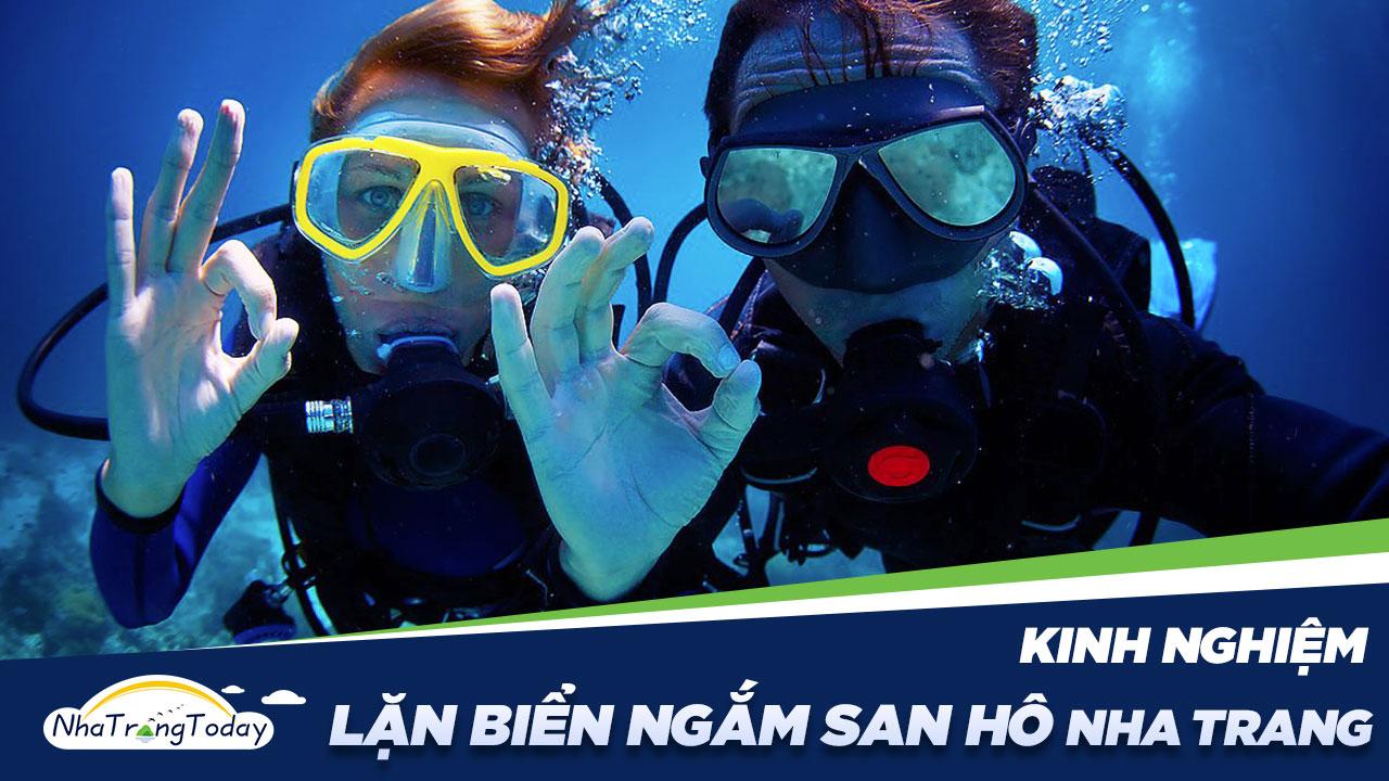 Kinh Nghiệm Lặn Biển Ngắm San Hô Nha Trang [HOT 2021]