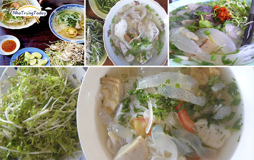 Bún cá sứa Nha Trang