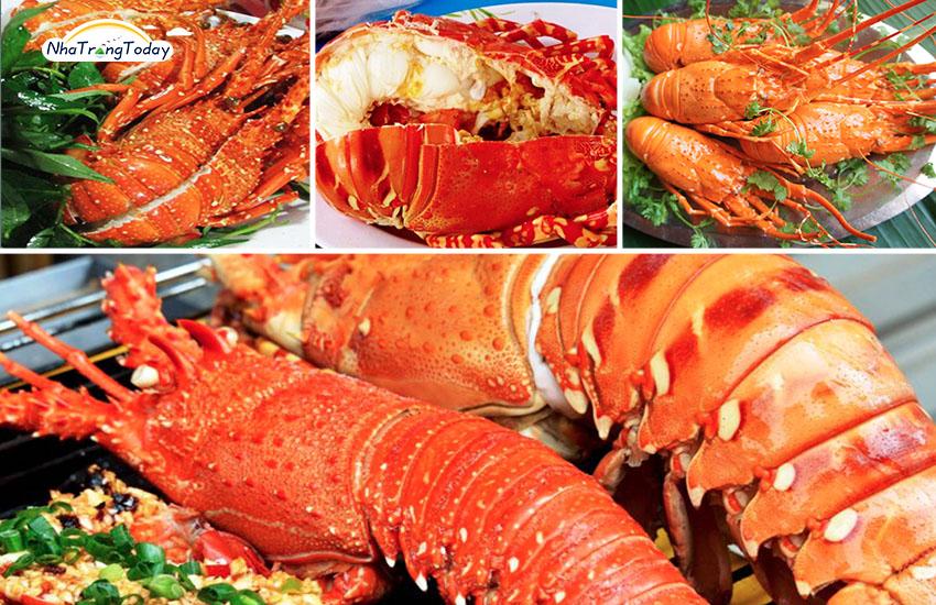 Tôm hùm nướng Nha Trang