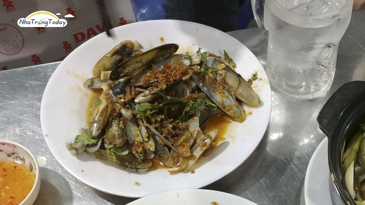 Món Ốc Nha Trang