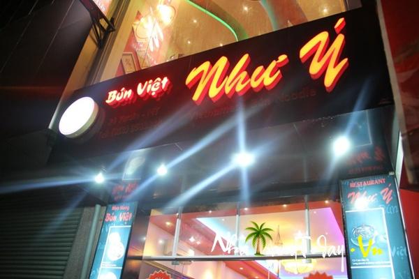 Nhà hàng Bún Việt Như Ý