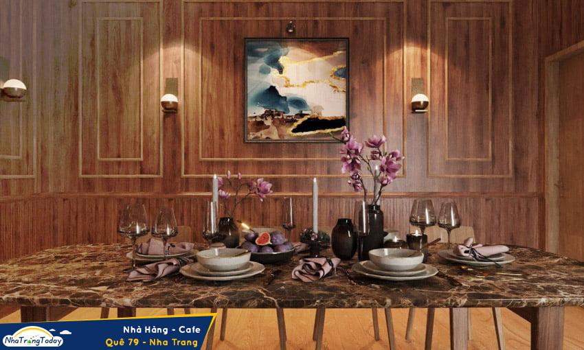nhà hàng - cafe Quê 79 nha trang