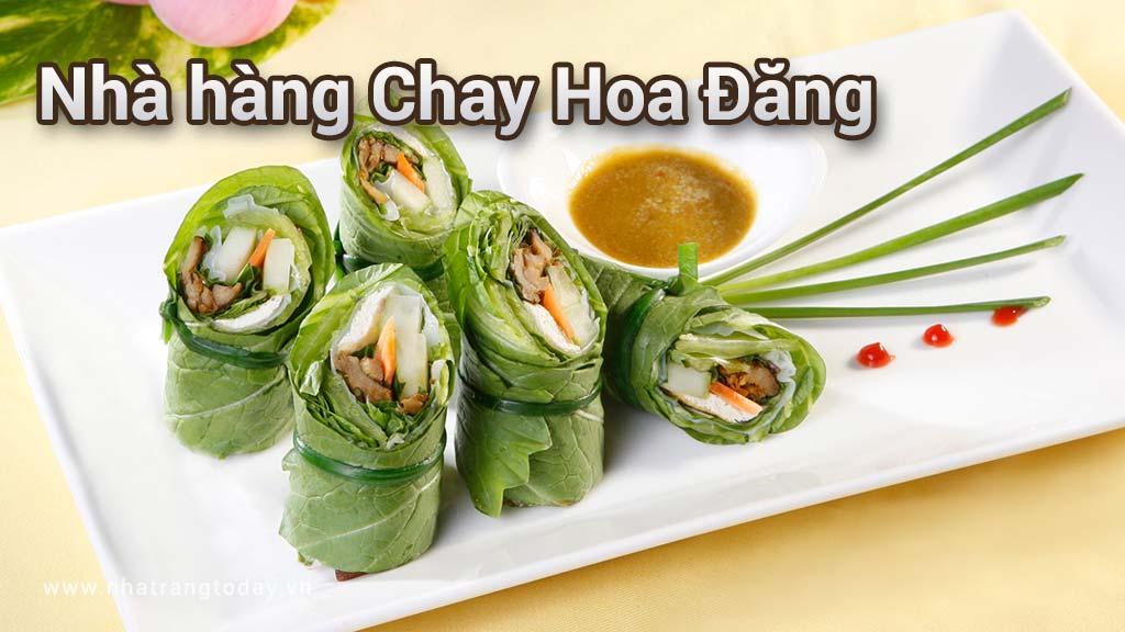 Nhà hàng Chay Hoa Đăng Nha Trang