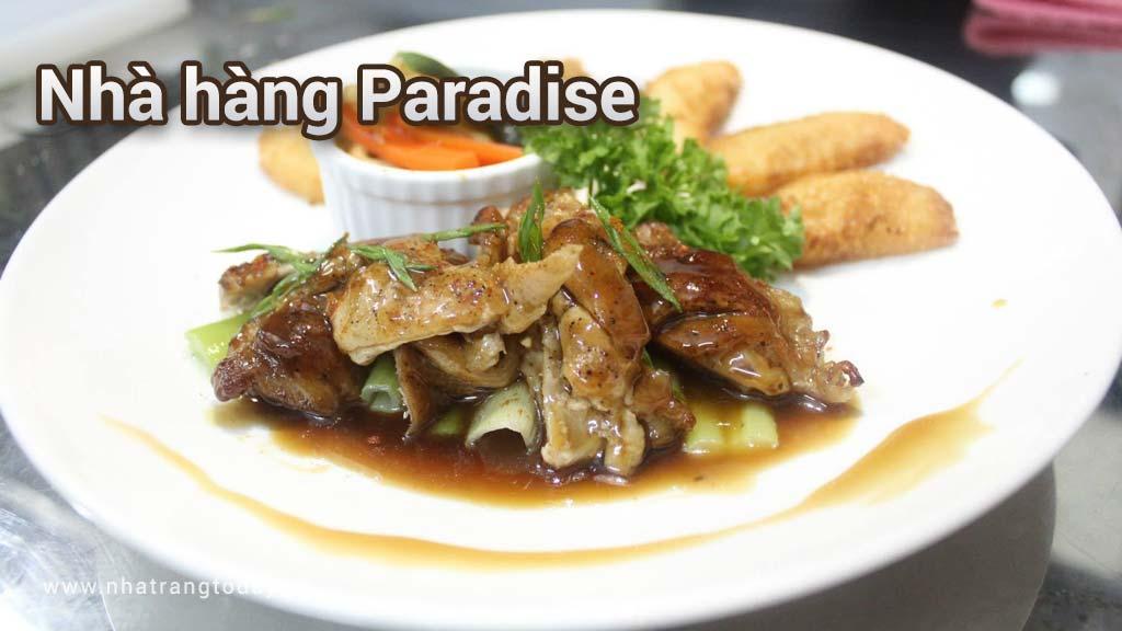 Nhà hàng Paradise Nha Trang