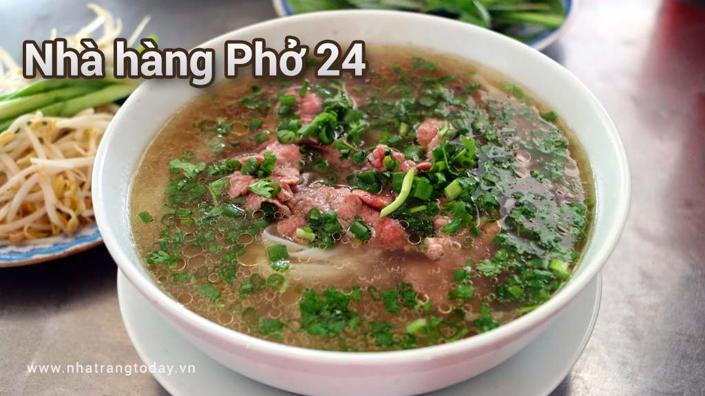 Nhà hàng Phở 24 Nha Trang