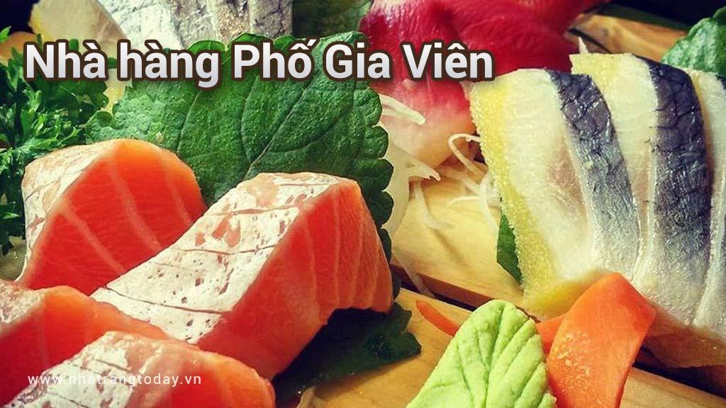 Nhà hàng Phố Gia Viên Nha Trang