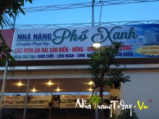 Nhà hàng Phố Xanh