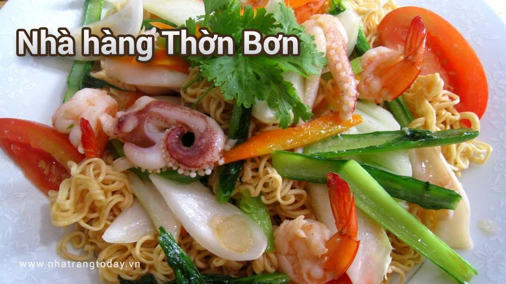 Nhà hàng Thờn Bơn Nha Trang