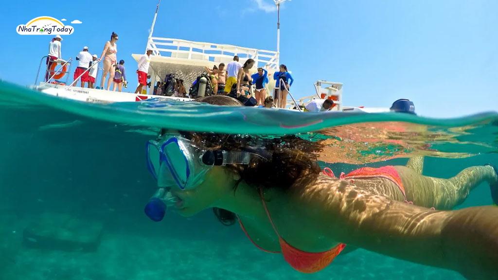 phân biệt lặn snorkeling và scuba diving