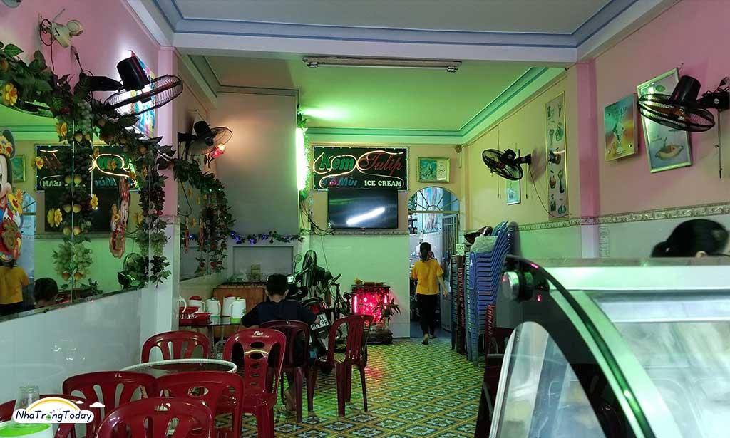 Quán Kem Tulip Nha Trang