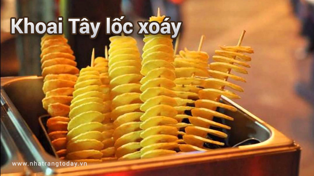Khoai tây lốc xoáy đổ bộ đến Nha Trang
