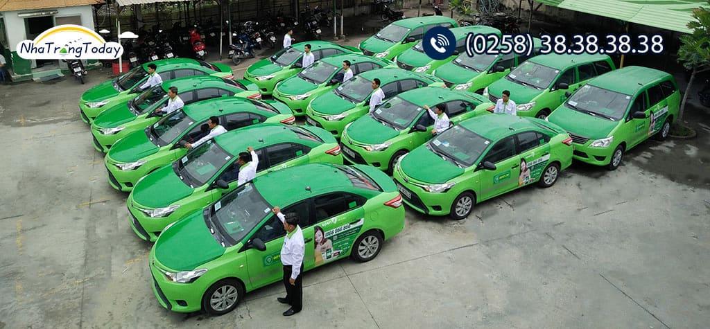 Các hãng taxi tại Nha Trang