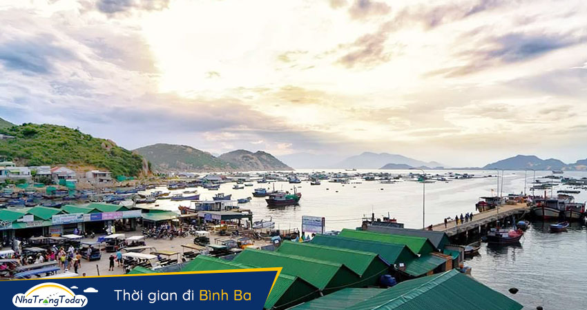 Kinh nghiệm du lịch đảo Bình Ba - Cam Ranh