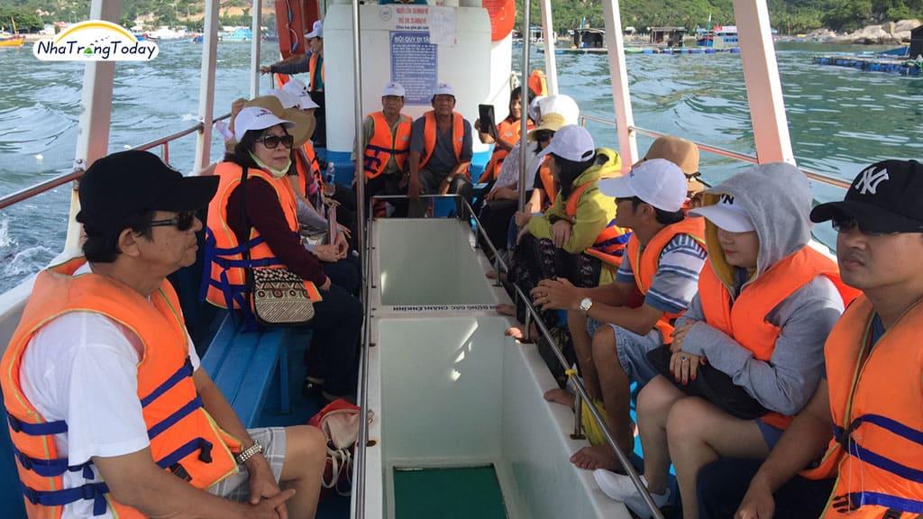 Tour Đảo Yến - Hòn Nội 2019