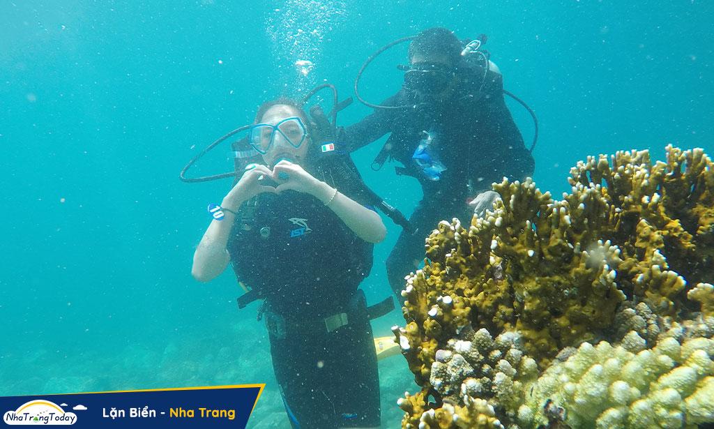 tour 4 đảo lặn biển nha trang