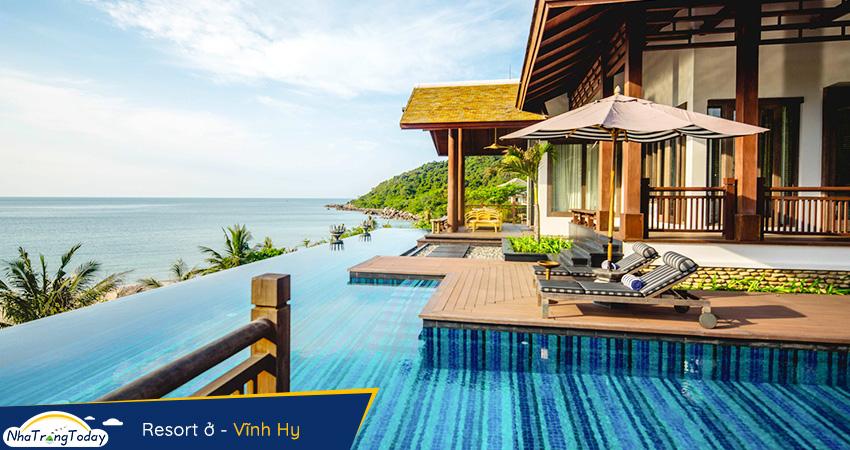 Resort ở Vĩnh Hy