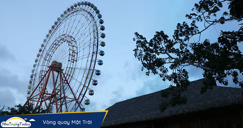 vòng quay mặt trời Sky Wheel Vinpearl Nha Trang
