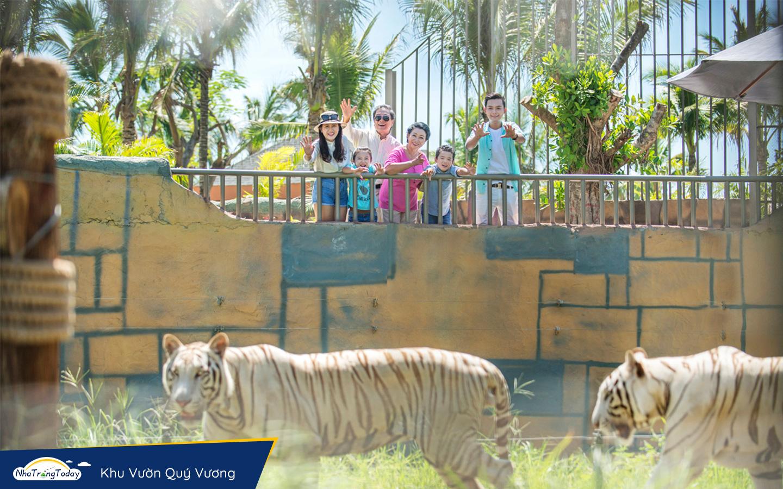 Vườn quý vương Vinpearl Nha Trang