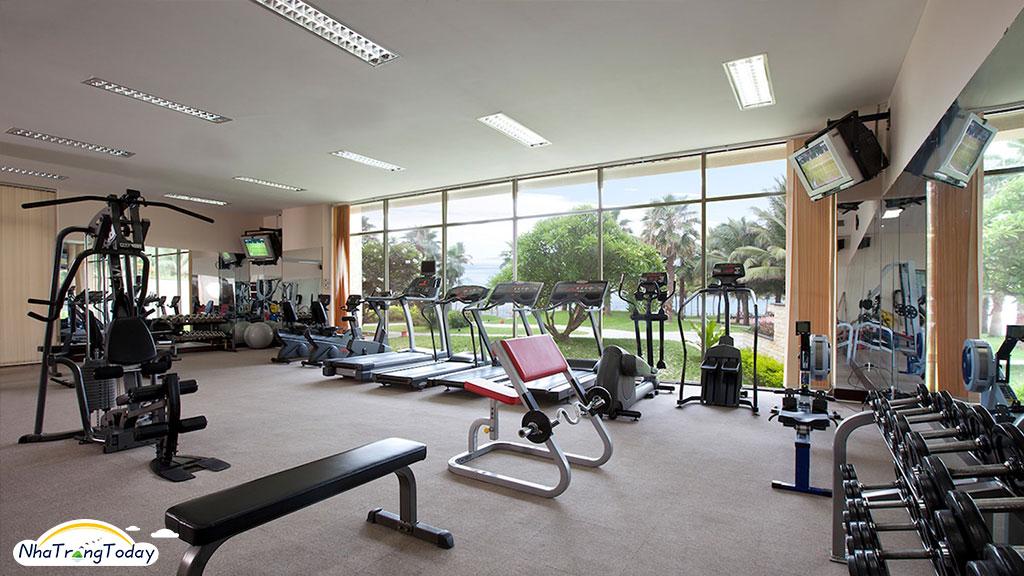 Vinpearl Resort nha trang - phòng gym
