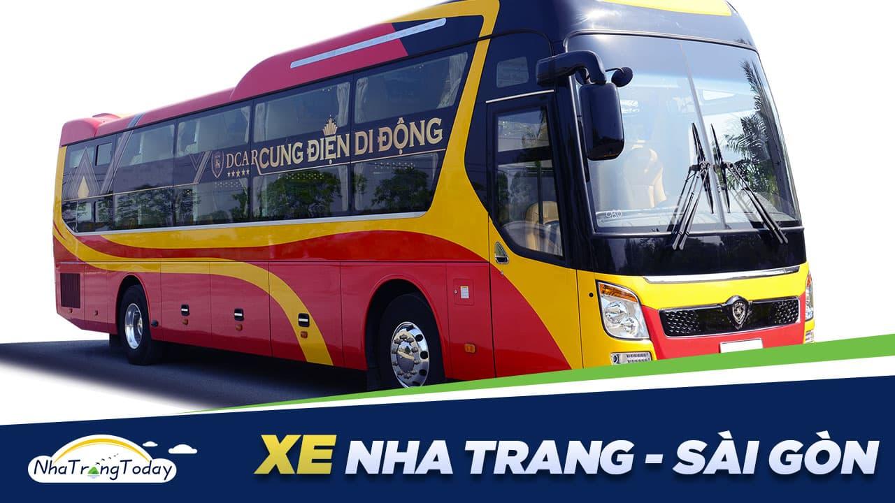 Vé Xe Nha Trang Sài Gòn