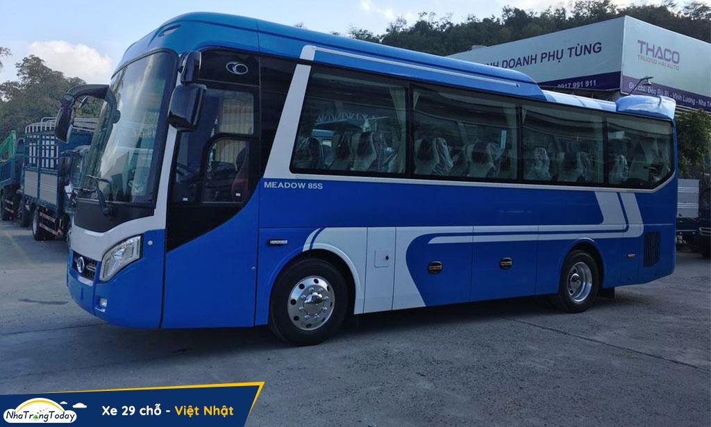 Xe Việt Nhật đi Nha Trang - Đà Lạt